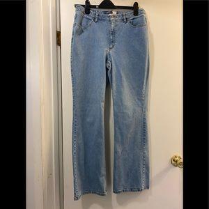 Liz Claiborne bootcut stretch jeans 12